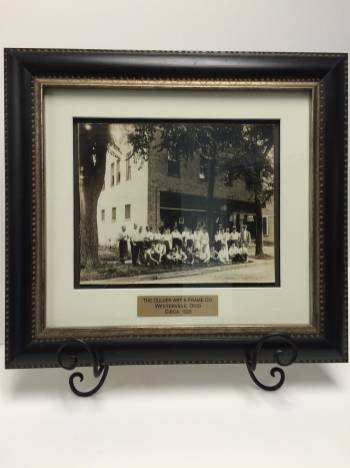 Culver Frame - Engraved Plates
